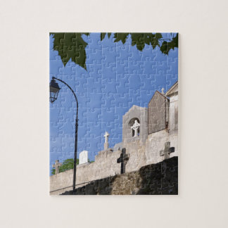 Cemetery in Menton Jigsaw Puzzle