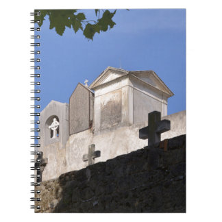 Cemetery in Menton Notebook