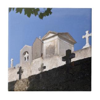 Cemetery in Menton Tile
