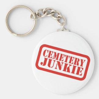 Cemetery Junkie Keychain