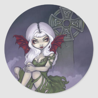 """Cemetery Mist"" Sticker"