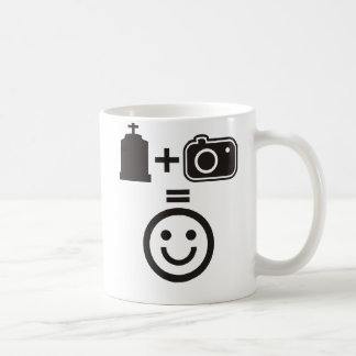 Cemetery Photography Smiley Coffee Mug