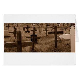Cemetery Santa Fe Card