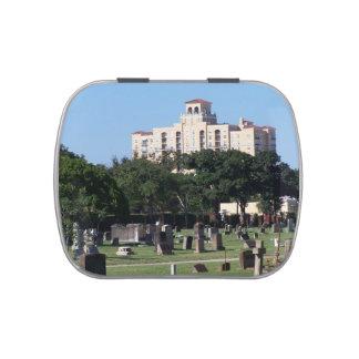 Cemetery west palm beach florida trees n buildings