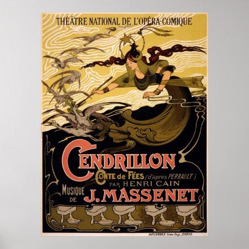 Cendrillon, conte de fées -  Opera Poster