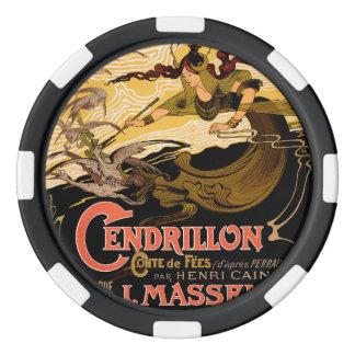Cendrillon Poker Chips