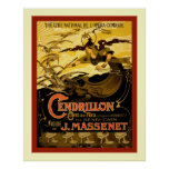 Cendrillon ~ Vintage French Theatre Advertising Poster