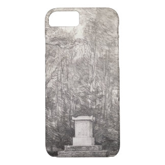 Cenotaph to Sir Joshua Reynolds at Coleorton Hall, iPhone 7 Case