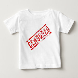 Censored Rubber Stamp Baby T-Shirt