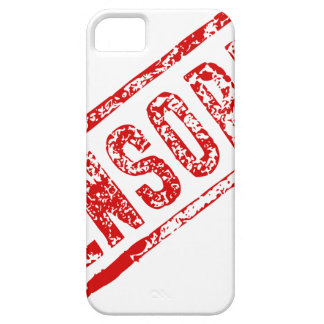 Censored Rubber Stamp Case For The iPhone 5