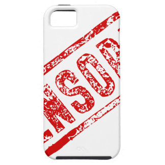 Censored Rubber Stamp iPhone 5 Covers