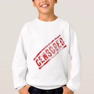 Censored Rubber Stamp Sweatshirt