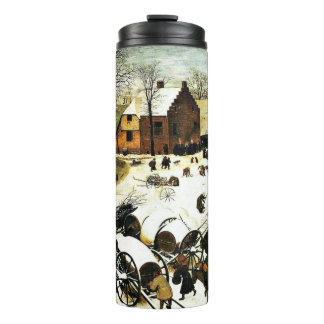 Census at Bethlehem-1566, Bruegel the Elder Thermal Tumbler
