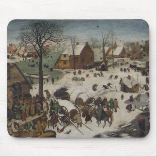 Census at Bethlehem by Pieter Bruegel Mouse Pad