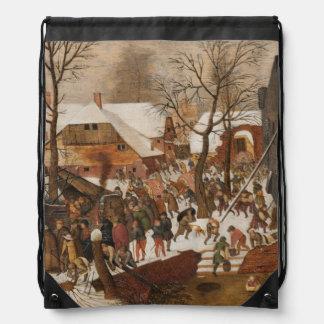 Census in Bethlehem Drawstring Bag