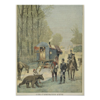 Census of Travellers in France Poster