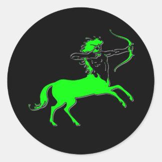 Centaur II Classic Round Sticker