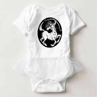 Centaur Sagittarius Zodiac Sign Baby Bodysuit