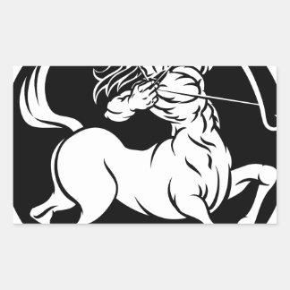 Centaur Sagittarius Zodiac Sign Sticker