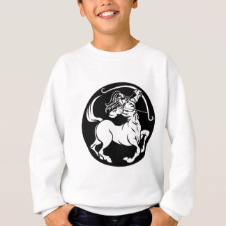 Centaur Sagittarius Zodiac Sign Sweatshirt