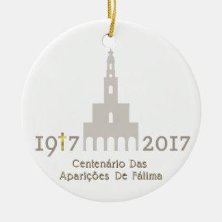 Centenário das Aparições de Fátima - Portugal Ceramic Ornament