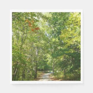 Centennial Wooded Path I Ellicott City Nature Napkin