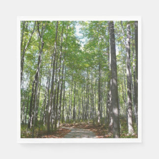 Centennial Wooded Path II Ellicott City Maryland Disposable Napkin