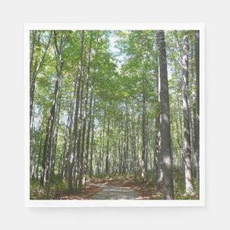 Centennial Wooded Path II Ellicott City Maryland Napkin