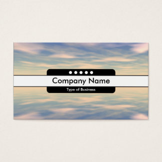 Center Band 5 Spots - Reflections II Business Card