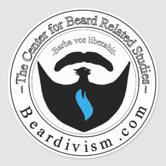Center for Beard Related Learning Sticker