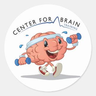 Center for Brain Training Sticker