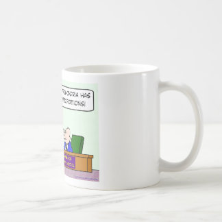 center for disease control hypochondria epidemic coffee mug