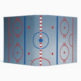 Center Ice Hockey Arena Binder
