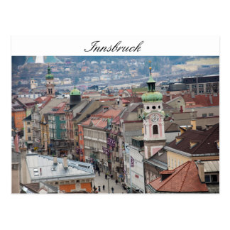 Center of Innsbruck Postcard