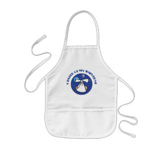 Center Of My Universe Maternity Kids Apron