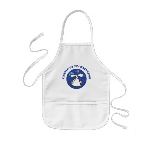 Center Of My Universe Maternity Aprons