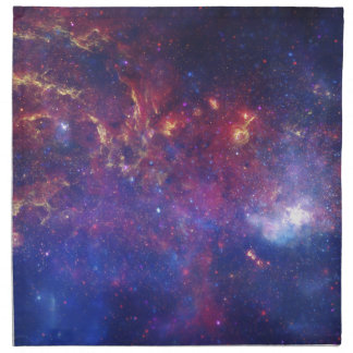 Center of the Milky Way Galaxy Printed Napkins