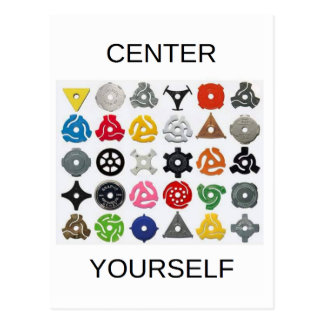 Center Yourself Postcard