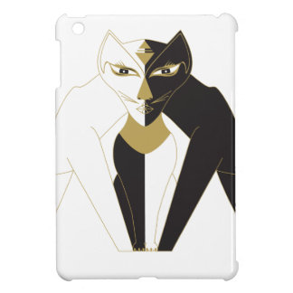 Centered Cat iPad Mini Cases