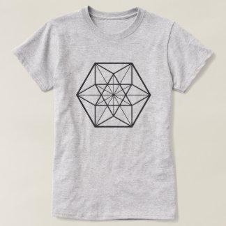 Centered Cuboctahedron (light background) T-Shirt