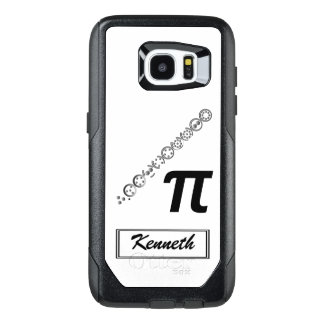 Centesimal 10 Digit Pi by Kenneth Yoncich OtterBox Samsung Galaxy S7 Edge Case