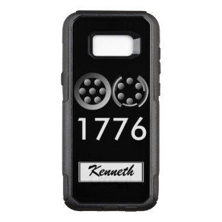 Centesimal 1776 by Kenneth Yoncich OtterBox Commuter Samsung Galaxy S8+ Case