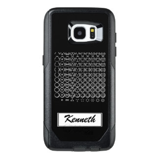 Centesimal Number Chart L-S by Kenneth Yoncich OtterBox Samsung Galaxy S7 Edge Case