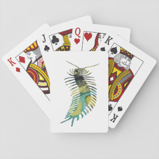 Centipede Art Playing Cards