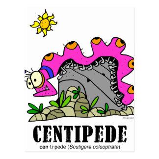 Centipede by Lorenzo © 2018 Lorenzo Traverso Postcard