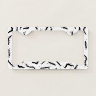 Centipedes License Plate Frame