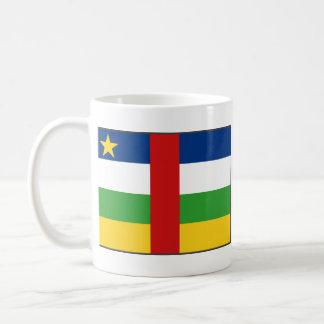 Centrafrique Flag ~ Map Mug