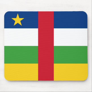 Centrafrique Flag Mousepad