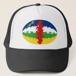 Centrafrique Gnarly Flag Hat