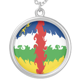 Centrafrique Gnarly Flag Pendant